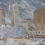 IMAGE: C. Arthur Croyle, Any Winter Day in Akron