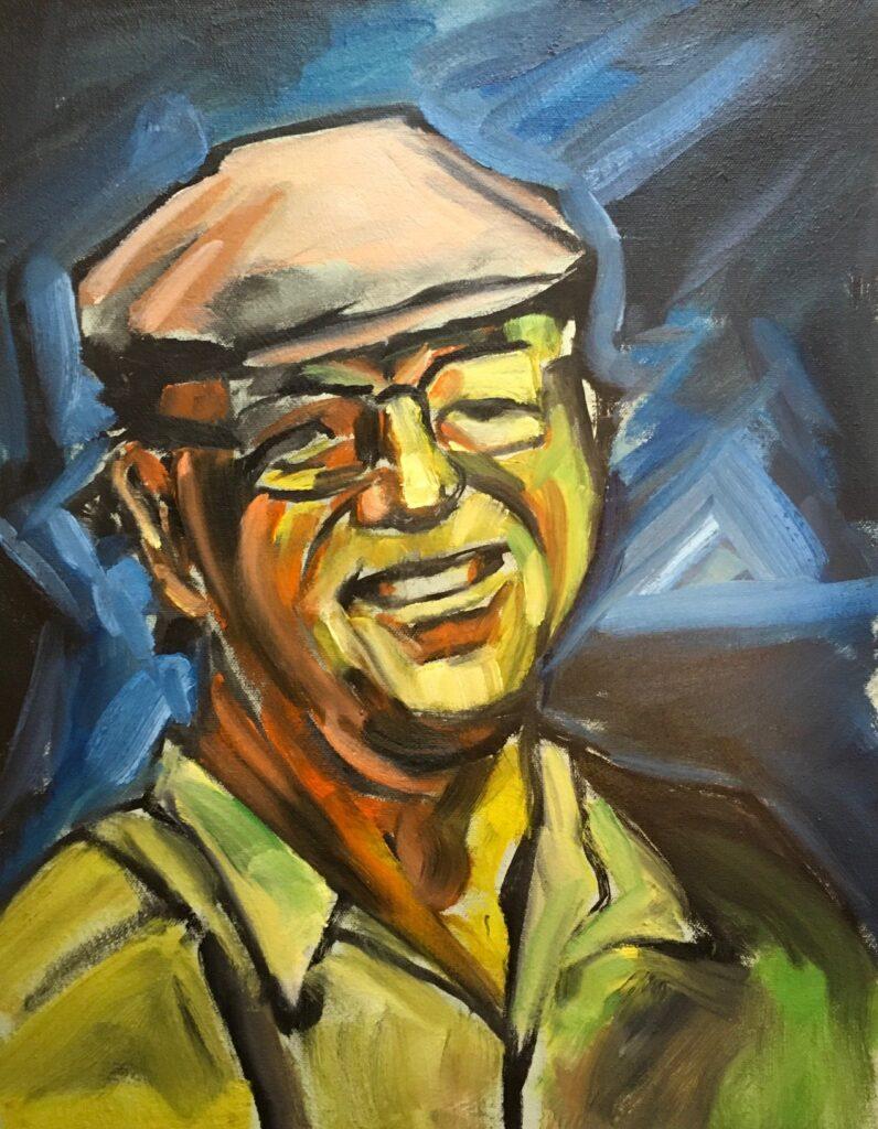 CIMAGE: C. Arthur Croyle, Self Portrait - German Expressionism